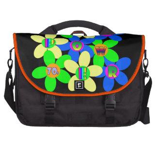 Flower power 60s-70s sacs ordinateurs portables