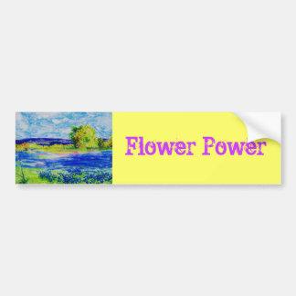 Flower power autocollant de voiture