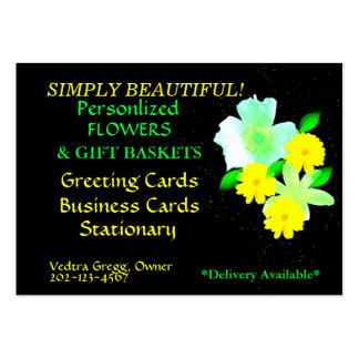 FLOWER POWER ! CARTE DE VISITE