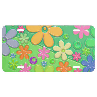 Flower power en vert