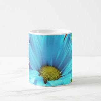 Flower power mug blanc