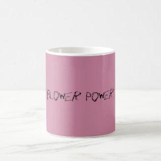 Flower power mug magique
