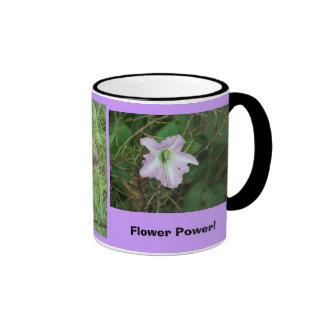 Flower power ! mug ringer