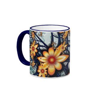 Flower power mug ringer