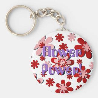 Flower power ! porte-clef