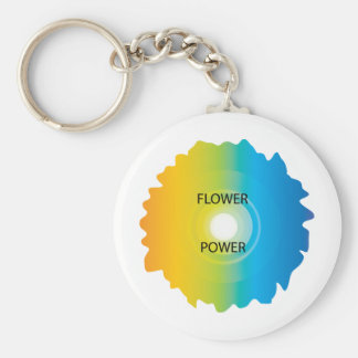 flower power porte-clef