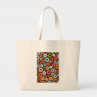 Flower power ! ! ! sac en toile