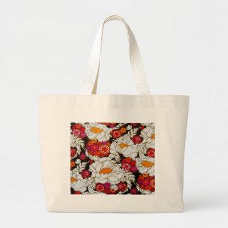 Flower power ! sac en toile jumbo