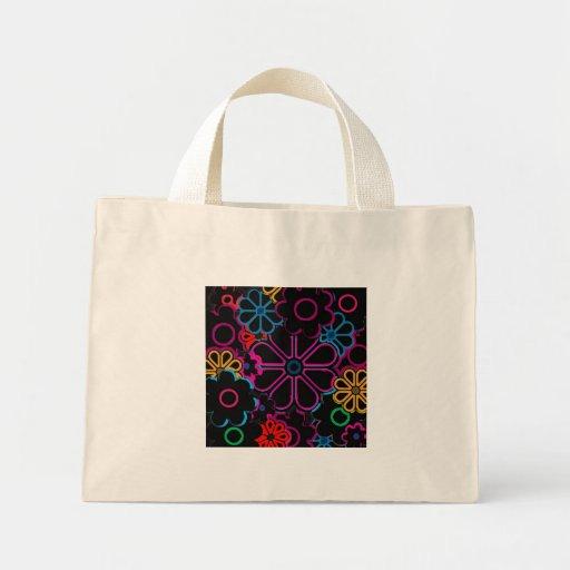 flower power sacs en toile