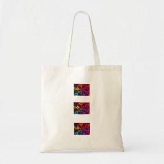 flower power sac en toile budget