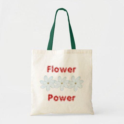 Flower power sac en toile