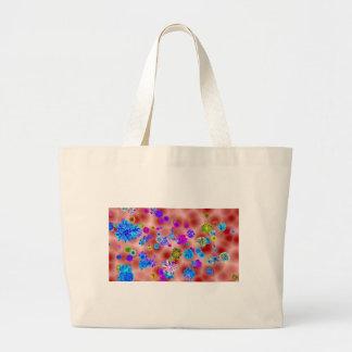 Flower power sac en toile jumbo