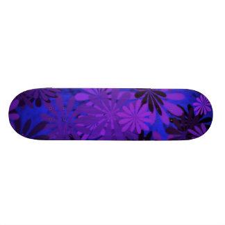 Flower power Skatebroad Mini Skateboard 18,4 Cm
