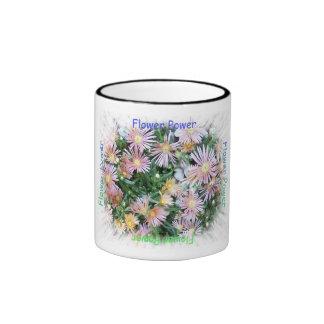 Flower power tasse