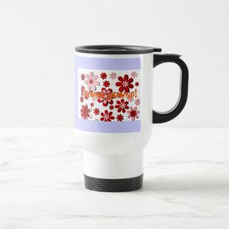 Flower power ! tasse à café