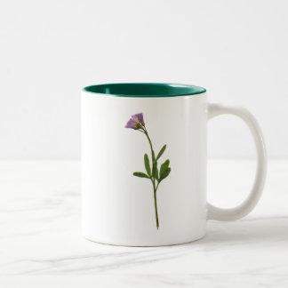Flower power mug bicolore