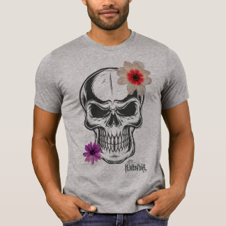 Flower Skull Excl T-Shirt