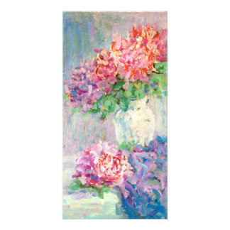 <Flowers> Carte Avec Photo