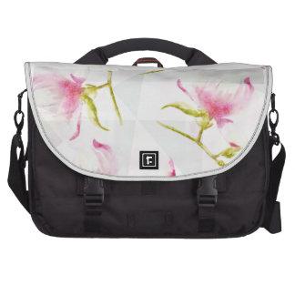 flowers meets geometrics sac pour ordinateur portable