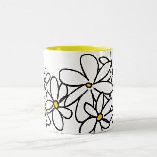 Flowers Mug Bicolore