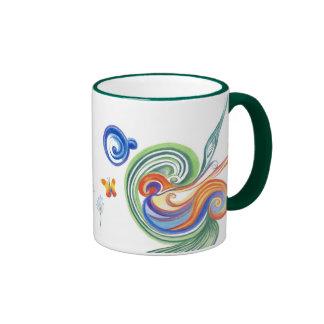 Flowers Mug Ringer