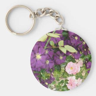 Flowers Porte-clés