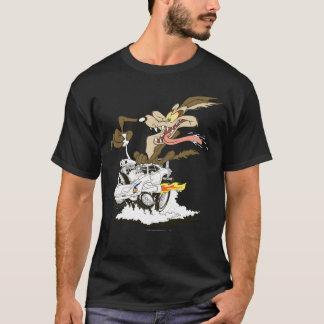 Flüchtiger Blick Wile E. Coyote Crazy T-Shirt