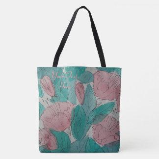 flüchtiger contempory ursprünglicher Kunstmit Tasche