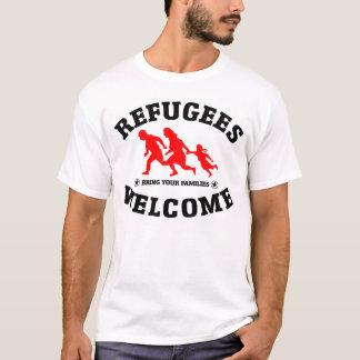 Flüchtlings-Willkommen holen Ihre Familien T-Shirt