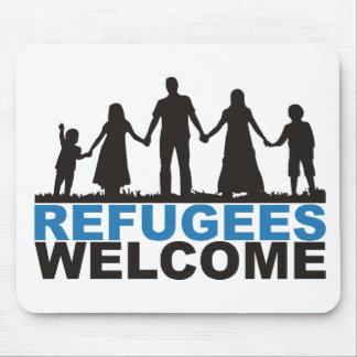 Flüchtlings-Willkommen Mousepads