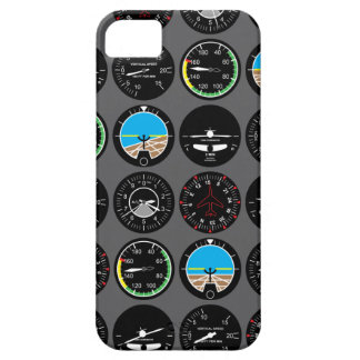 Flug-Instrumente Etui Fürs iPhone 5