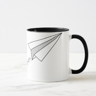 Flug zum Abenteuer Tasse