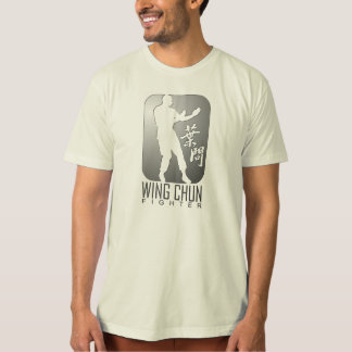 Flügel Chun Kämpfer-Emblem T-Shirt