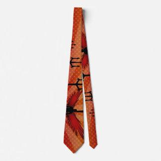 Flügel u. Dreizacke Krawatte