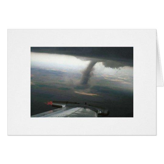 Flügelspitze-Trichter #3 Grußkarte