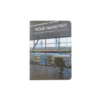 Flughafen-Pass-Halter Passhülle