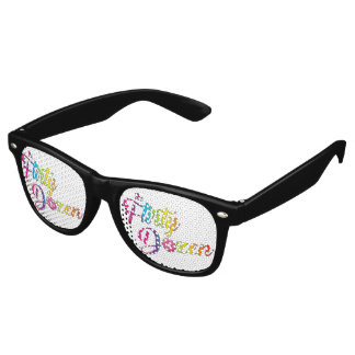 Flugleitanlagen-Logo-Party-Schatten Retro Sonnenbrillen