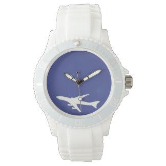 Flugzeug Armbanduhr