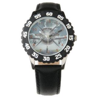 Flugzeug-Bild-Armbanduhr Uhr
