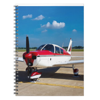 Flugzeug-Notizbuch Spiral Notizblock
