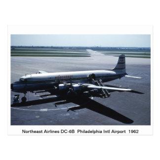 Flugzeug-Postkarte Postkarte
