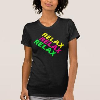 Fluro 80er entspannen sich Turnhallen-Shirt T-Shirt