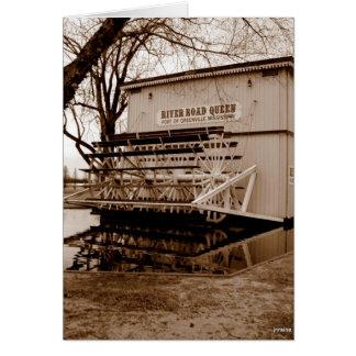 Fluss-Boots-Königin-Sehenswürdigkeit Karte