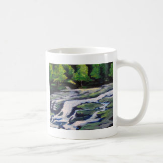 Fluss-Felsen Kaffeetasse