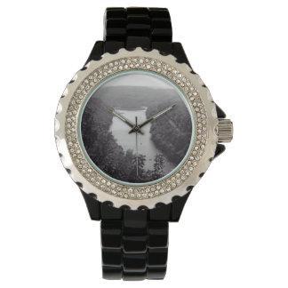 Fluss-Kreis Armbanduhr