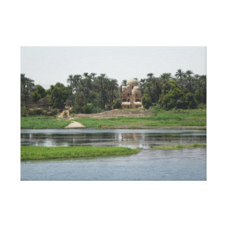 Fluss-Nil-Leinwand-Druck Leinwanddruck