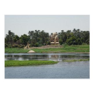 Fluss-Nil-Postkarte Postkarte