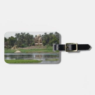 Fluss-Nil-Szene Kofferanhänger