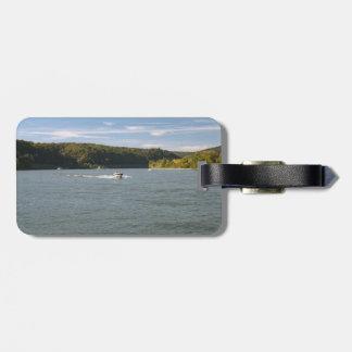 Fluss Rhein Kofferanhänger