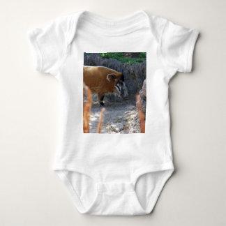 Fluss-Schwein Baby Strampler
